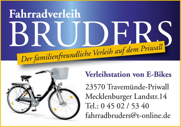 Bruders Fahrradverleih